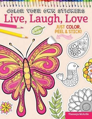 Animal Love Colouring Book and Sticker B
