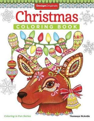 Christmas Coloring Book Thaneeya Mcardle 9781497200807