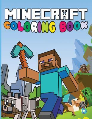 Minecraft Coloring Book: Fun Minecraft Drawings for Kids : Minecraft ...
