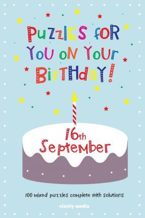 Puzzles for You on Your Birthday - 16th September