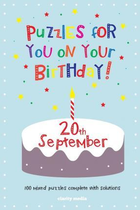 Puzzles for You on Your Birthday - 20th September