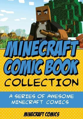 Minecraft Comic Book Collection Cover Image