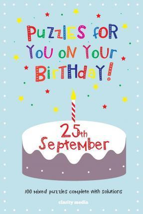 Puzzles for You on Your Birthday - 25th September