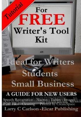 Tutorial for Free Writer's Tool Kit