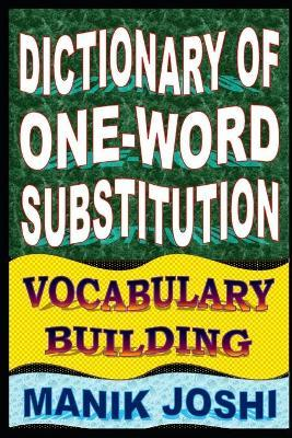 Dictionary of One-Word Substitution