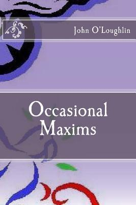 Occasional Maxims