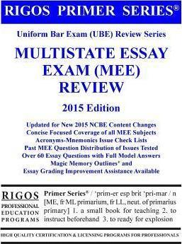 multistate essay exam subject frequency Virginia bar exam subject areas the following subjects are included in the virginia bar exam: essay portion multistate portion.
