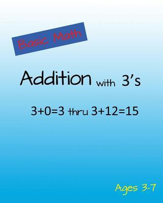 Basic Math Addition With 3's