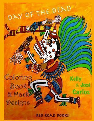Day of the Dead Coloring Book and Mask Designs