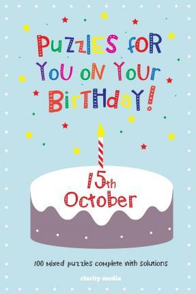 Puzzles for You on Your Birthday - 15th October