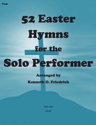 52 Easter Hymns for the Solo Performer-Viola Version