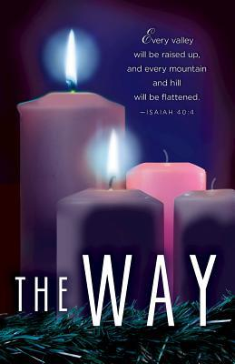 The Way Advent Candle Sunday 2 Bulletin (Pkg of 50)