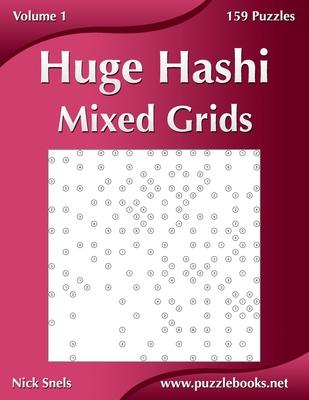 Huge Hashi Mixed Grids - Volume 1 - 159 Puzzles