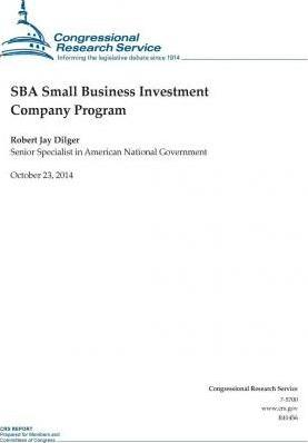Sba Small Business Investment Company Program