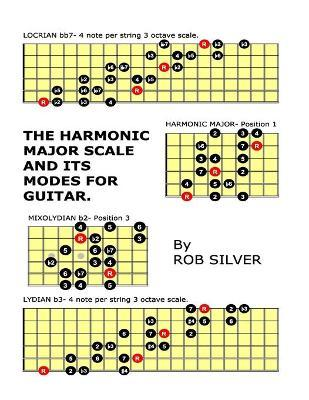 the harmonic major scale and its modes for guitar rob silver 9781503351424. Black Bedroom Furniture Sets. Home Design Ideas