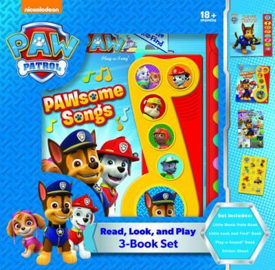 Read, Look and Play - Paw Patrol
