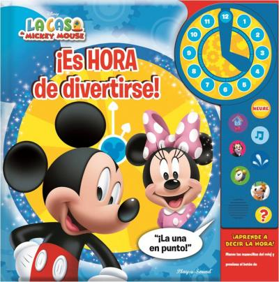 MICKEY Y MINNIE MOUSE CLOCK