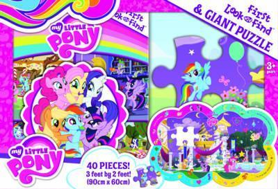 My First Look and Find and Shaped Puzzle - My Little Pony