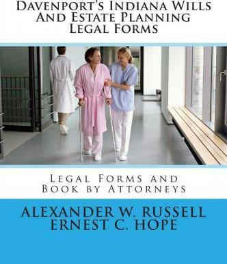 Davenports Indiana Wills And Estate Planning Legal Forms Ernest - Indiana legal forms