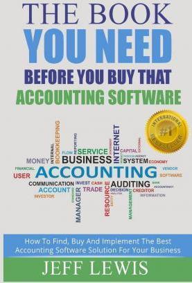 The Book You Need Before You Buy That Accounting Software