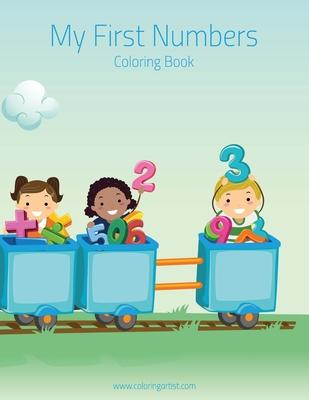 My First Numbers Coloring Book 1