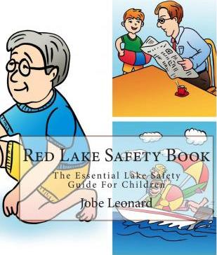 Red Lake Safety Book  The Essential Lake Safety Guide for Children