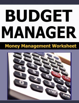 Budget Manager: Money Management Worksheet