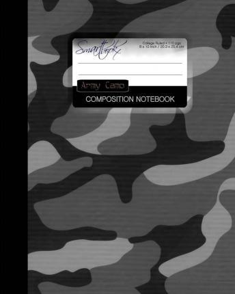 Army Camo Composition Notebook