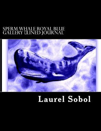 Sperm Whale Royal Blue Gallery Lined Journal