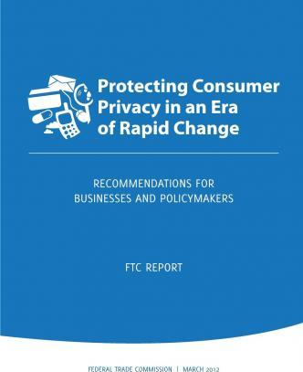 Protecting Consumer Privacy in an Era of Rapid Change