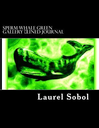 Sperm Whale Green Gallery Lined Journal