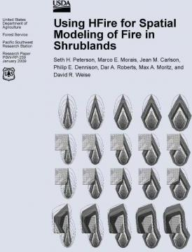 Using Hfire for Spatial Modeling of Fire in Shrublands