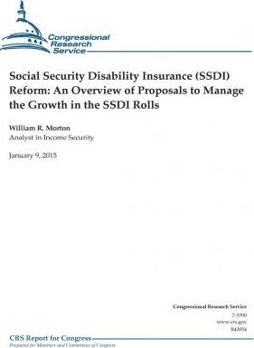 Social Security Disability Insurance (Ssdi) Reform