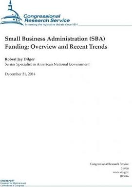 Small Business Administration (Sba) Funding
