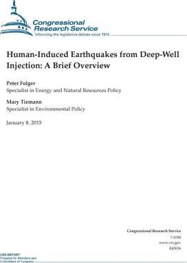 Human-Induced Earthquakes from Deep-Well Injection