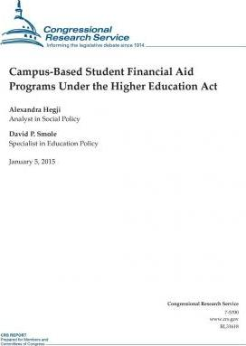 Campus-Based Student Financial Aid Programs Under the Higher Education ACT