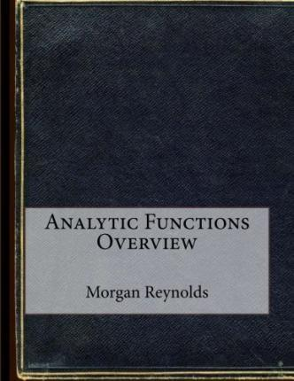 Analytic Functions Overview