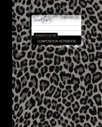 Leopard Print Composition Notebook
