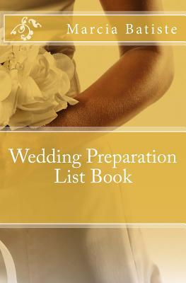 Wedding Preparation List Book