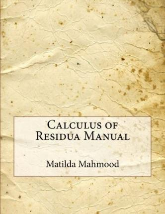 Calculus of Residua Manual