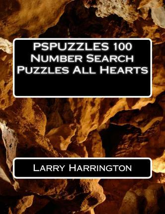 Pspuzzles 100 Number Search Puzzles All Hearts