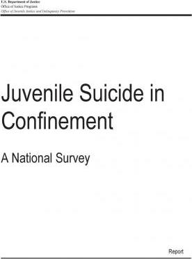 Juvenile Suicide in Confinement