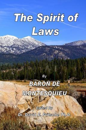 The Spirit of Laws Volume 2
