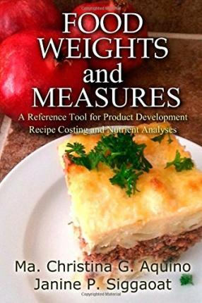 Food Weights and Measures