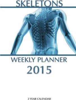 Skeletons Weekly Planner 2015