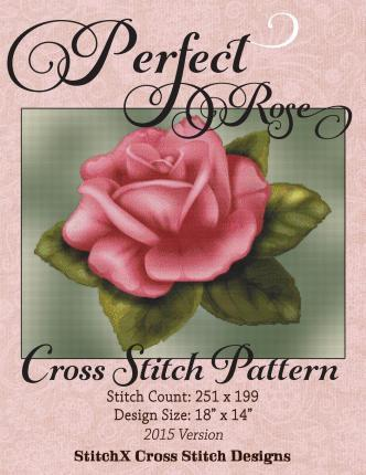 Perfect Rose Cross Stitch Pattern