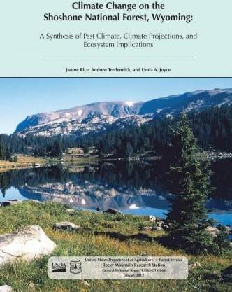 Climate Change on the Shoreline National Forest, Wyoming
