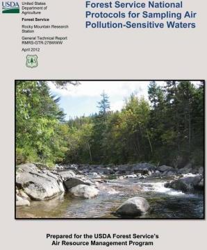 Forest Service National Protocols for Sampling Air Pollution-Sensitive Waters