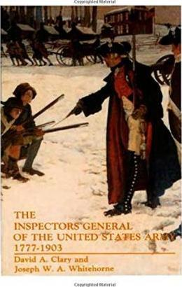 The Inspectors General of the United States Army 1777-1903