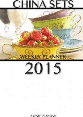 China Sets Weekly Planner 2015